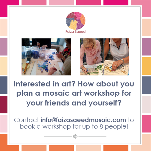 Faiza Saeed- Mosaic Plans-Social Media